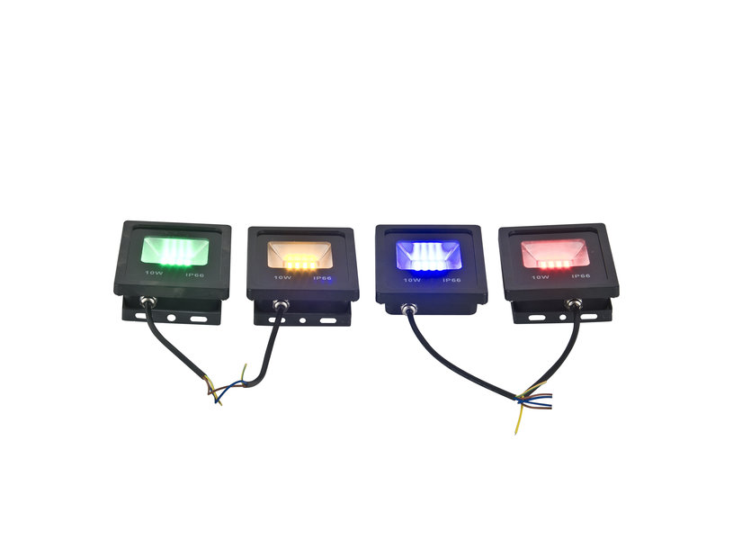 LED Bouwlamp 10 Watt Geel Licht IP65 - Crius