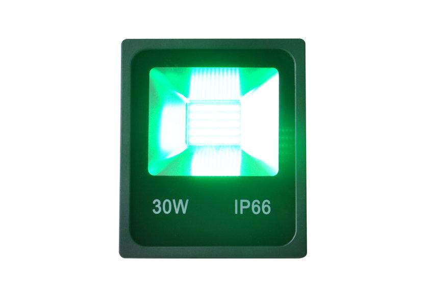Groene LED Bouwlamp 30 Watt - IP66 - Crius