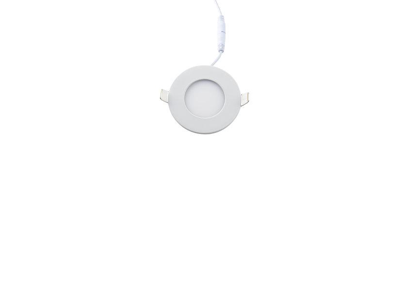 Dimbare Ronde LED Inbouwspot 3W - 3000K inclusief driver - Crius