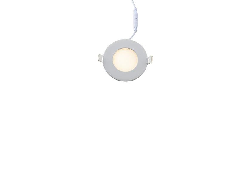 Dimbare Ronde LED Inbouwspot 3W - 3000K - Crius