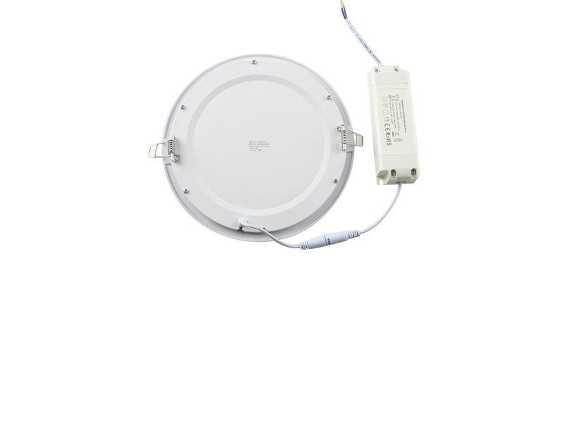 Dimbaar Rond LED Paneel 18W - 3000K - Crius