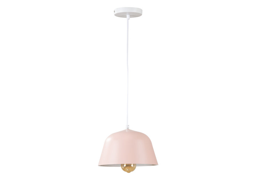 Hanglamp Modern Roze Rond Aluminium - Valott Veera
