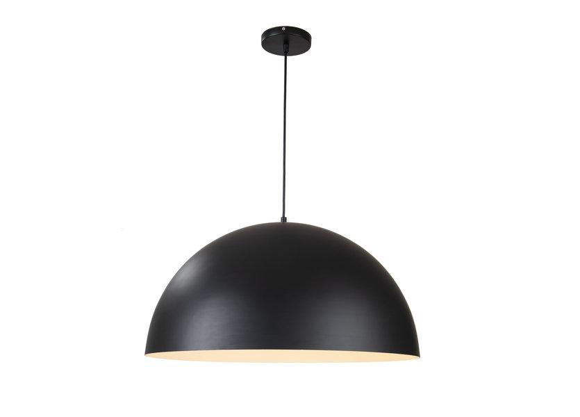 Hanglamp Rond Zwart Aluminium 40 cm - Valott Simo