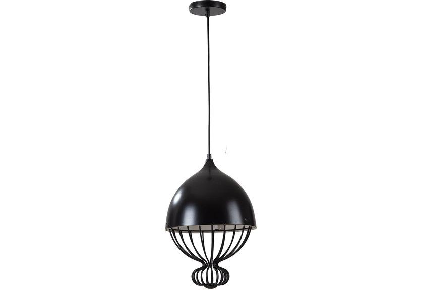 Hanglamp Modern Zwart Rond Metaal - Scaldare Ranco
