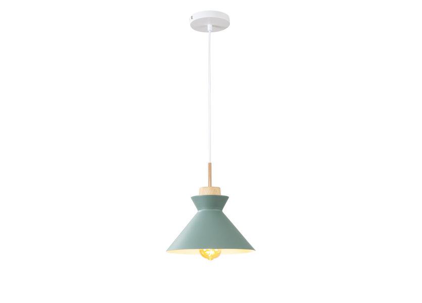Hanglamp Modern Groen Rond Aluminium - Valott Lahja