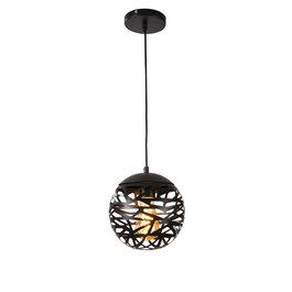 Scaldare Hanglamp Design Zwart Rond Metaal - Scaldare Vadena