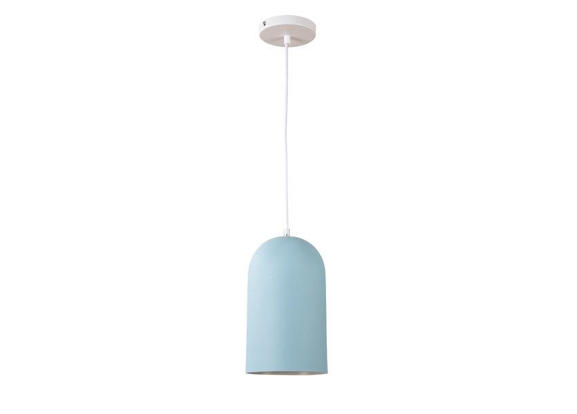 Hanglamp Design Blauw Rond Metaal - Scaldare Zocca