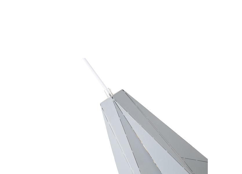 Hanglamp Modern Grijs Metaal - Scaldare Acerenza