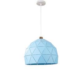 Valott Hanglamp Modern Blauw Rond Metaal - Valott Sini