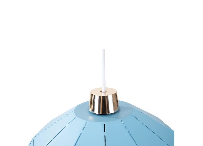 Hanglamp Modern Blauw Rond Metaal - Valott Sini