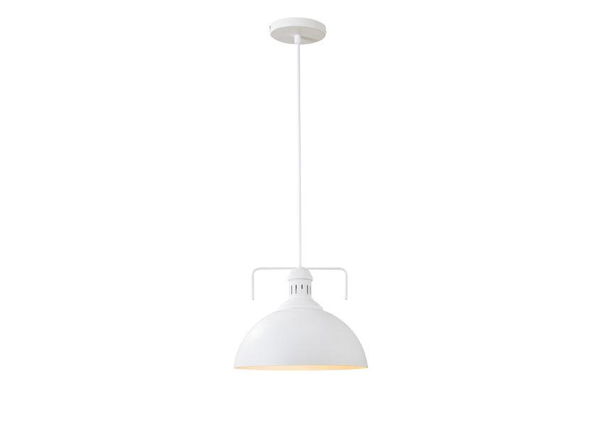 Hanglamp Modern Wit Rond Aluminium - Scaldare Lanzada