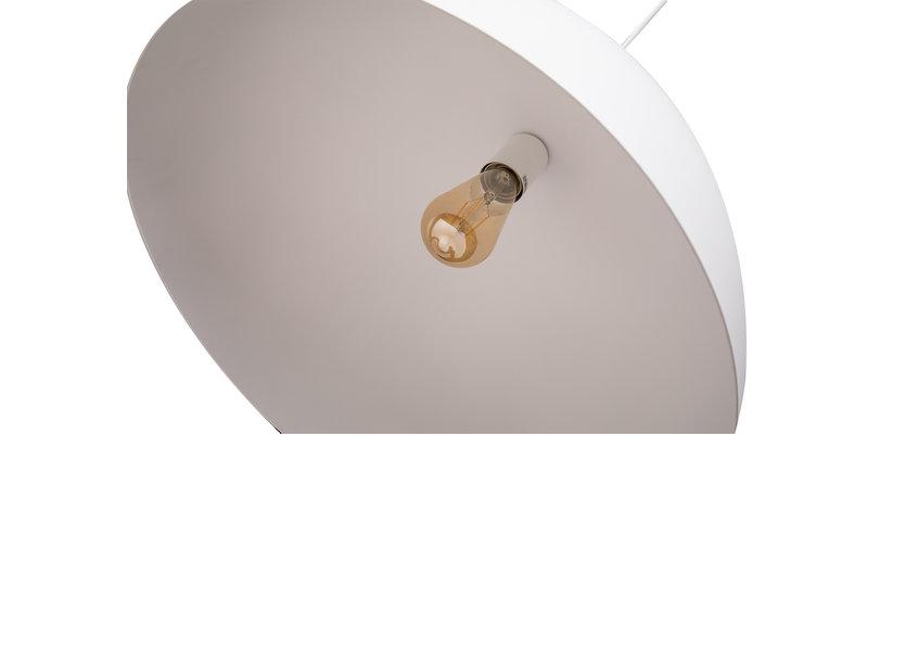 Hanglamp Rond Wit Aluminium 30 cm - Valott Simo