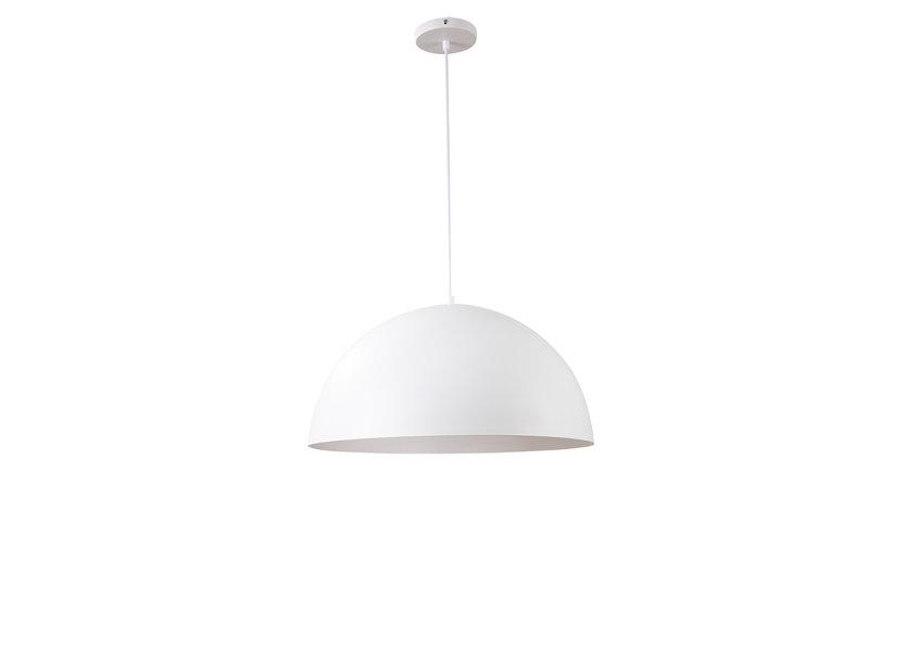 Hanglamp Rond Wit Aluminium 50 cm - Valott Simo