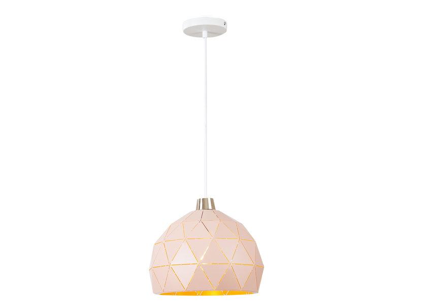 Hanglamp Modern Roze Rond Metaal - Valott Satu