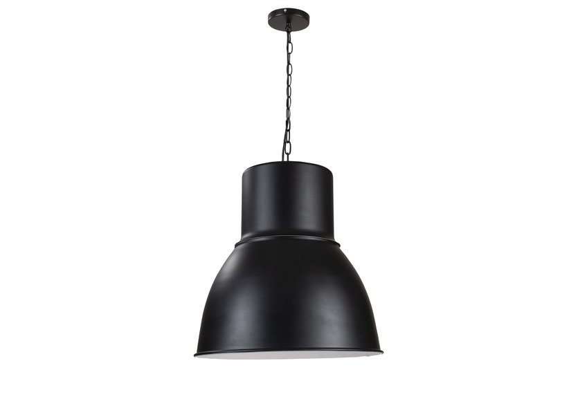 Hanglamp Modern Zwart Rond Aluminium - Scaldare Taggia