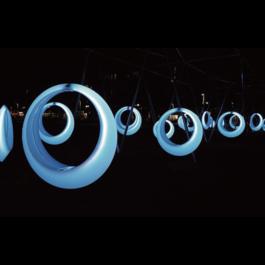 Funnylights LED RGB Schommel Oplaadbaar + Afstandsbediening -Funnylights Magmar