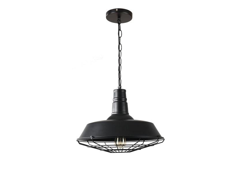 Hanglamp Industrieel Zwart Aluminium  - Valott Marko