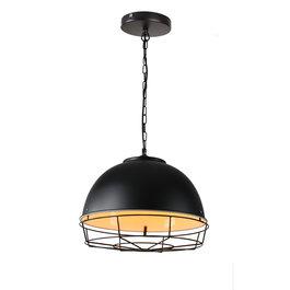 Valott Hanglamp Industrieel Zwart Rond Metaal - Valott Taavi