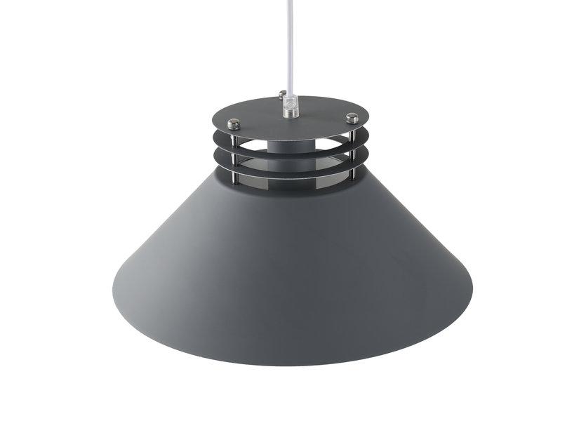 Hanglamp Modern Grijs Rond - Valott Airi
