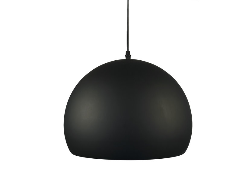 Zwarte Hanglamp met Goudkleurige Binnenkant – Valott Oca