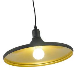 Valott Zwarte Kegelhanglamp met Goudkleurige Binnenkant – Valott Mo