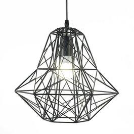 Scaldare Scandinavische Hanglamp Diamant Zwart – Scaldare Nesso