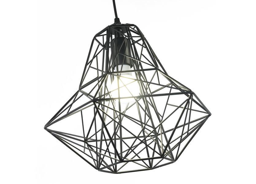 Scandinavische Hanglamp Diamant Zwart – Scaldare Nesso