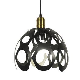 Scaldare Moderne Koepelvormige Hanglamp Zwart – Scaldare Torano