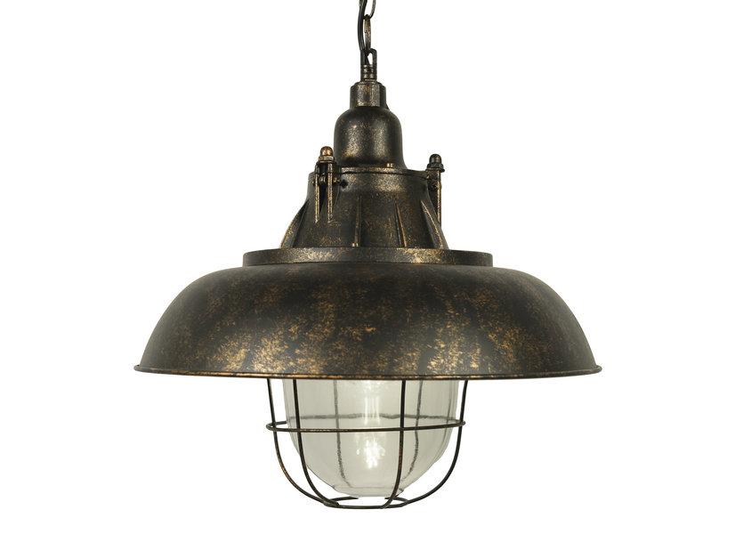 Industriële Verweerde Hanglamp - Scaldare Sorso