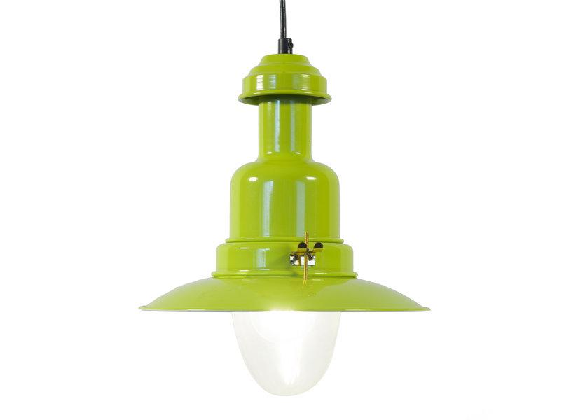 Industriële Groene Hanglamp – Valott Carbon