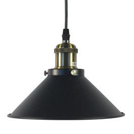 Valott Industriële Hanglamp Zwart - Valott Cos