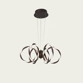 Scaldare Hanglamp LED Design Bruin Rond   - Scaldare Cala