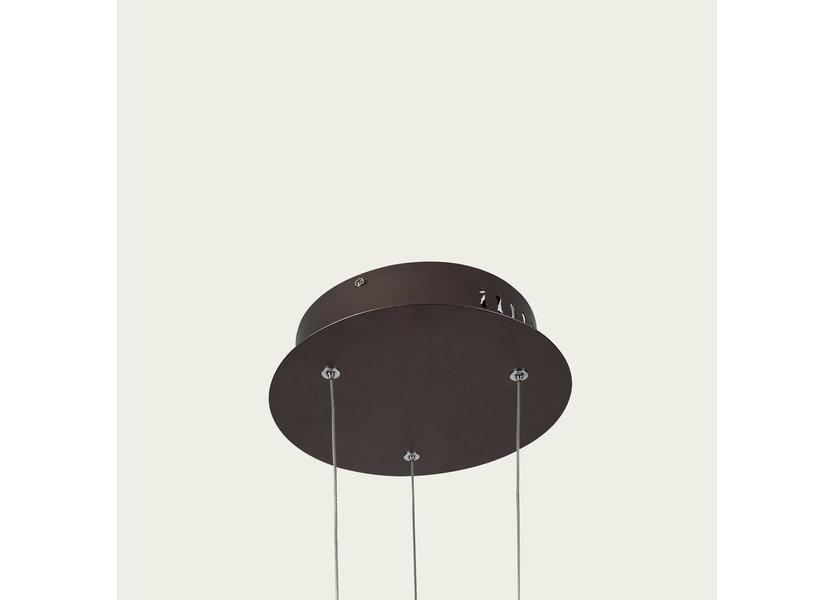 Hanglamp LED Design Bruin Rond   - Scaldare Cala