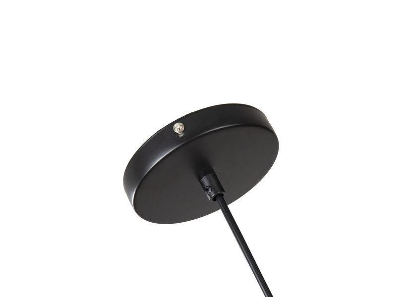 Hanglamp Industrieel Zwart Pendel - Crius