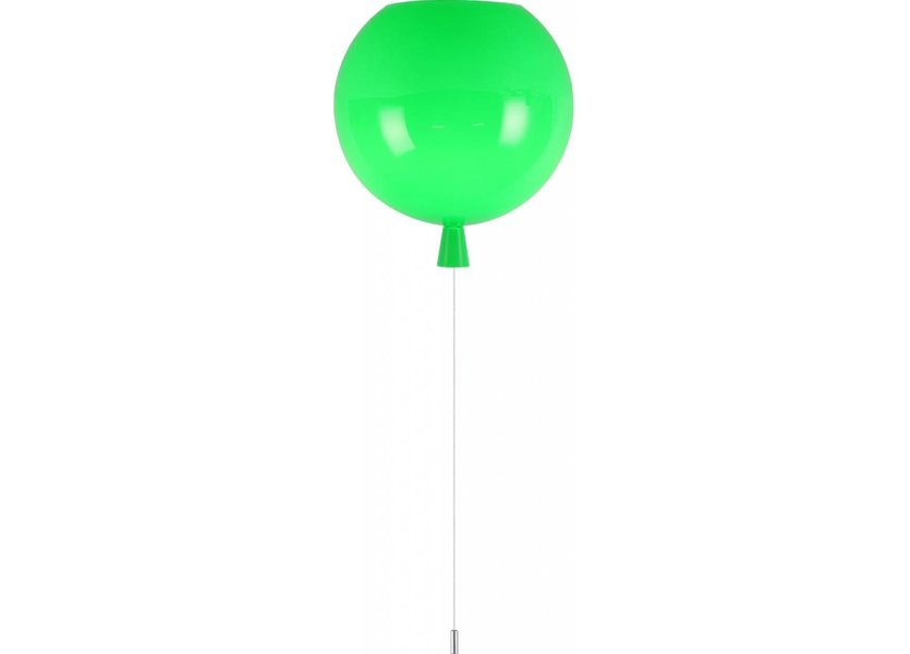 Plafondlamp Ballon Middelgroot set van 3 Rood, Geel, Groen Carnaval - Funnylights