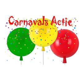 Funnylights Wandlamp Ballon Middelgroot set van 3 Rood-Geel-Groen (Carnaval) - Funnylights