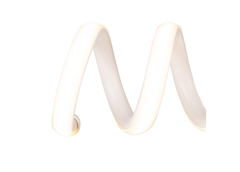 Wandlamp LED Design Wit Spiraal   - Scaldare Esine