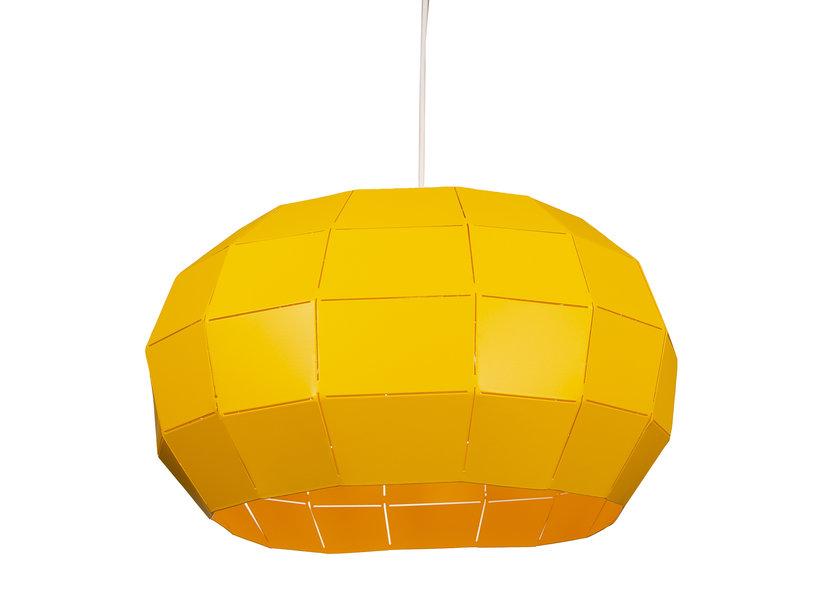 Hanglamp Modern Geel Rond Metaal - Scaldare Helmi