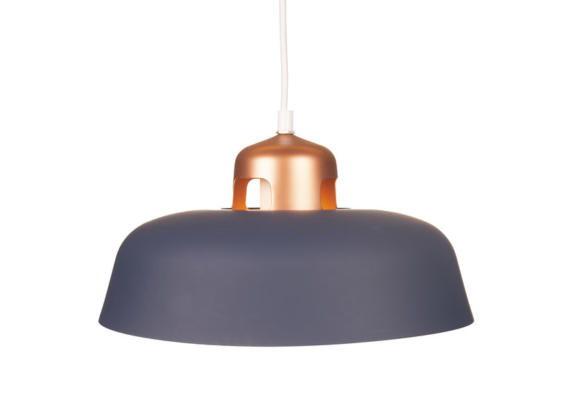 Hanglamp Modern Blauw Rond Aluminium – Valott Elli