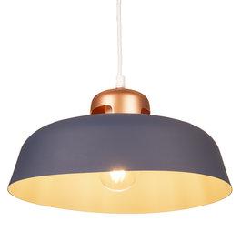 Valott Hanglamp Modern Blauw Rond Aluminium – Valott Elli