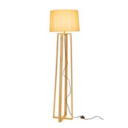 Valott Staande Lamp Vierpoot Hout Beige Kap - Valott Ampua