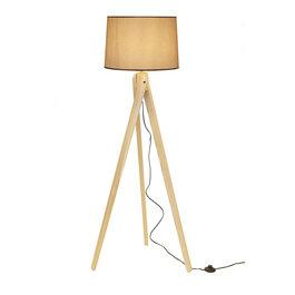 Valott Staande Lamp Driepoot Hout - Valott Bamboo