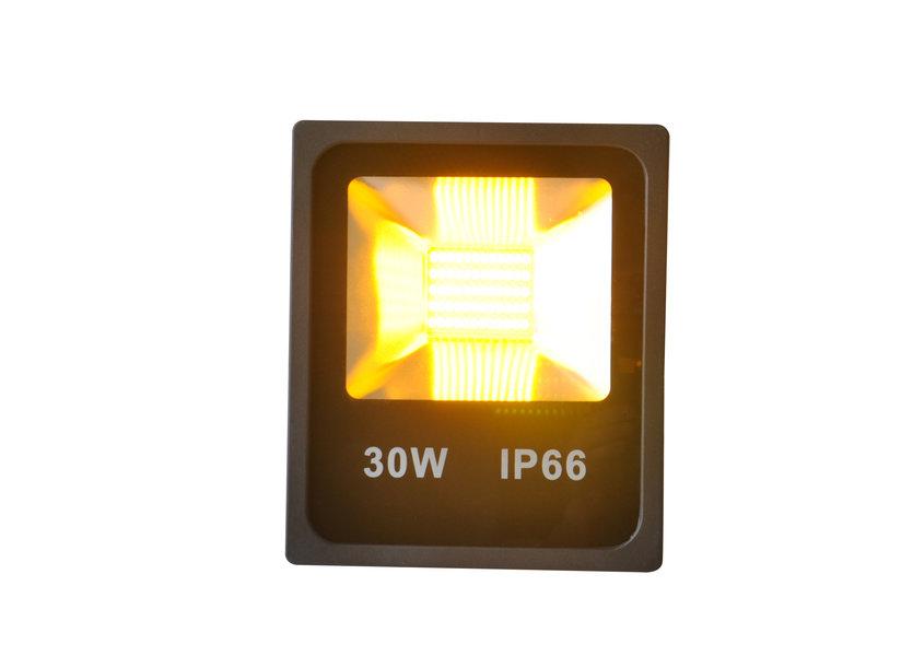 Rode, Gele en Groene LED Bouwlamp - 30 Watt - Set van 3 (Carnaval) IP66 - Crius