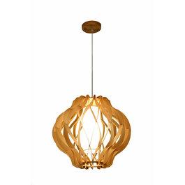 Madera Hanglamp Hout Houtkleur 45 cm - Madera Albar