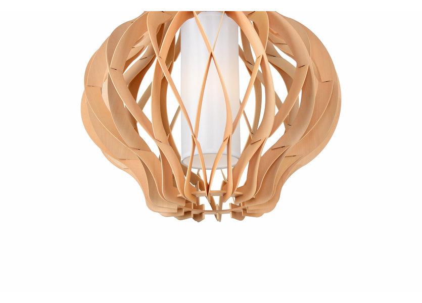Hanglamp Hout Houtkleur 45 cm - Madera Albar