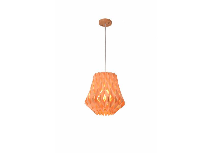 Hanglamp Hout Houtkleur 34 cm - Madera Acacia