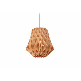 Madera Hanglamp Hout Houtkleur 34 cm - Madera Acacia