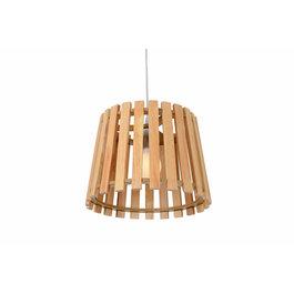 Madera Hanglamp Hout Rond Houtkleur 34 cm - Madera Betula