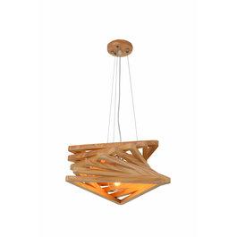 Madera Hanglamp Hout Houtkleur 43 cm - Madera Pendula