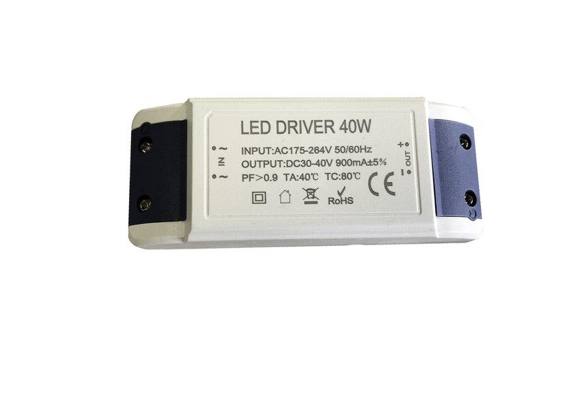 Sixpack: LEDpaneel 60 x 60 cm, 38 Watt, 4000 Kelvin – inclusief driver Valott Nauris
